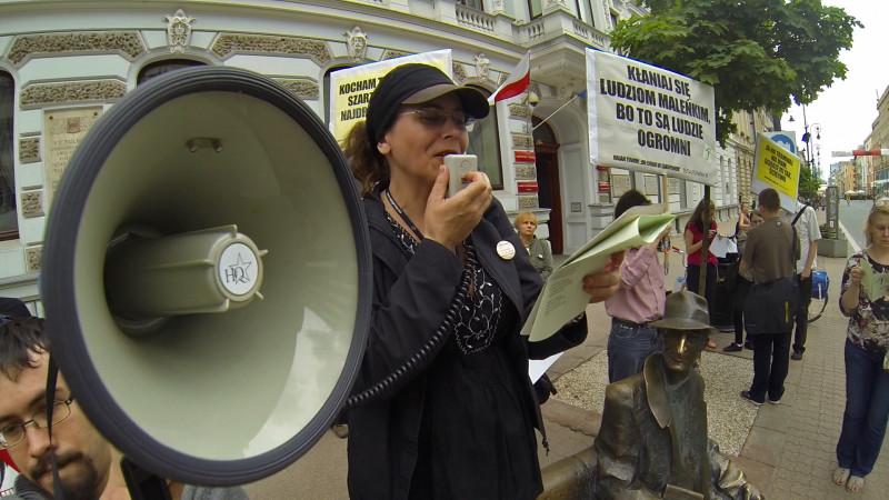 Manifestacja Tuwim Polityczny