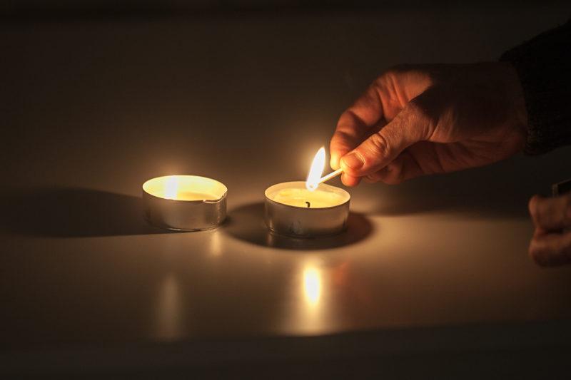 Wieczór przy świecach