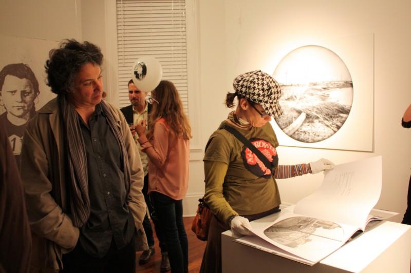 Wernisaż wystawy Memory Project w Antenna Gallery w Nowym Orleanie
