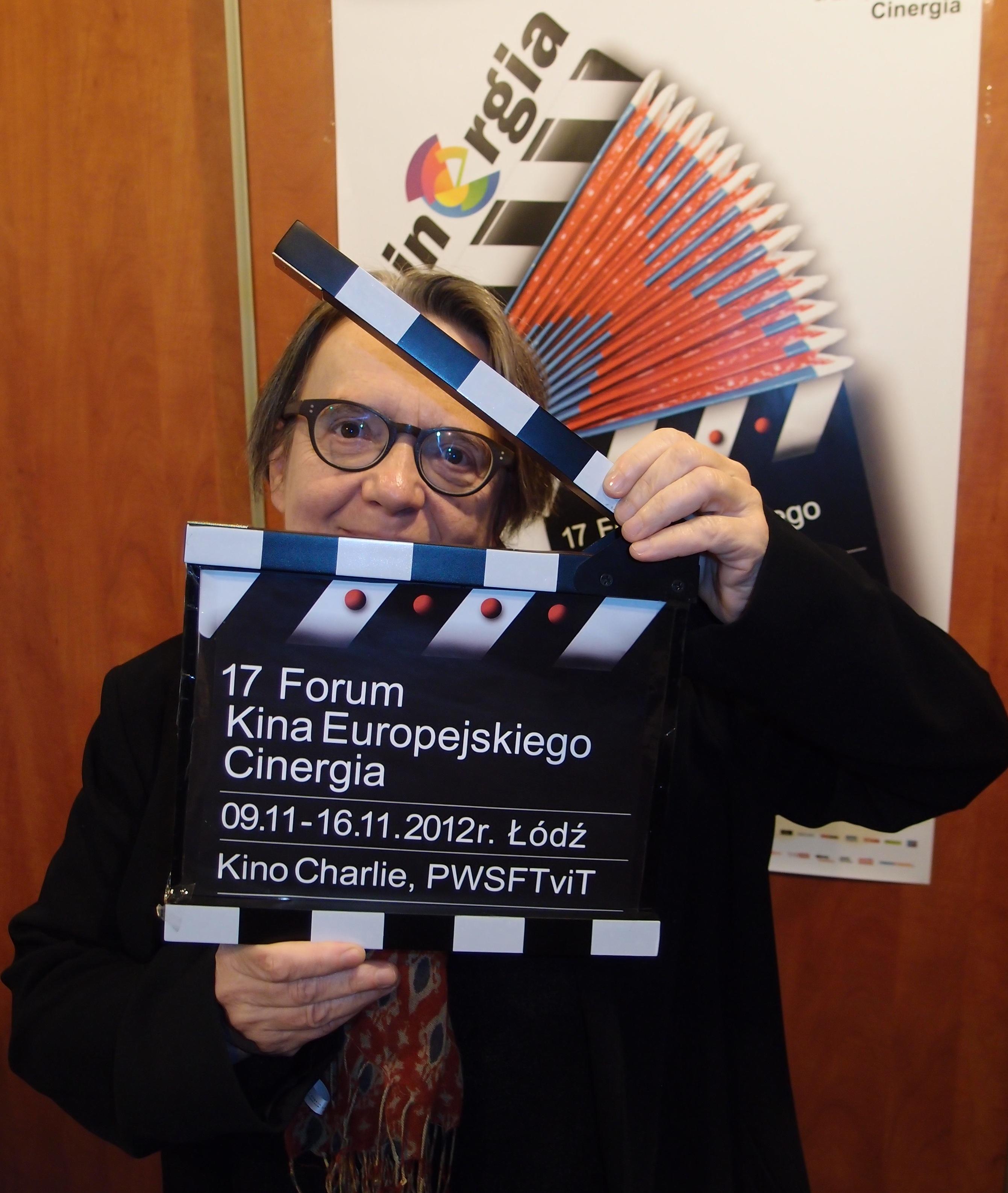 ambasadorka Łodzi filmowej - Agnieszka  Holland