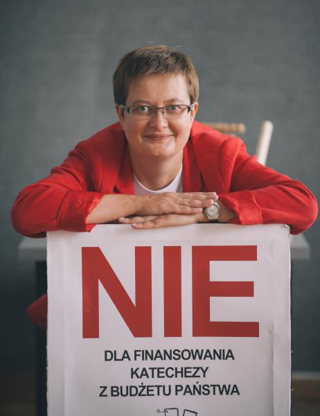 Katarzyna Lubnauer, foto Zbigniew Polędwica