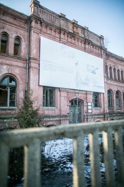 Ruiny Uniontex. Fot. Zbigniew Polędwica.