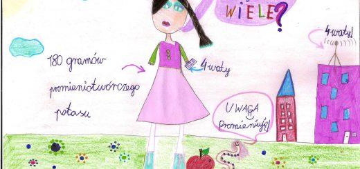 Rys. Zuzanna Michalska, 8 lat, klasa 3e.