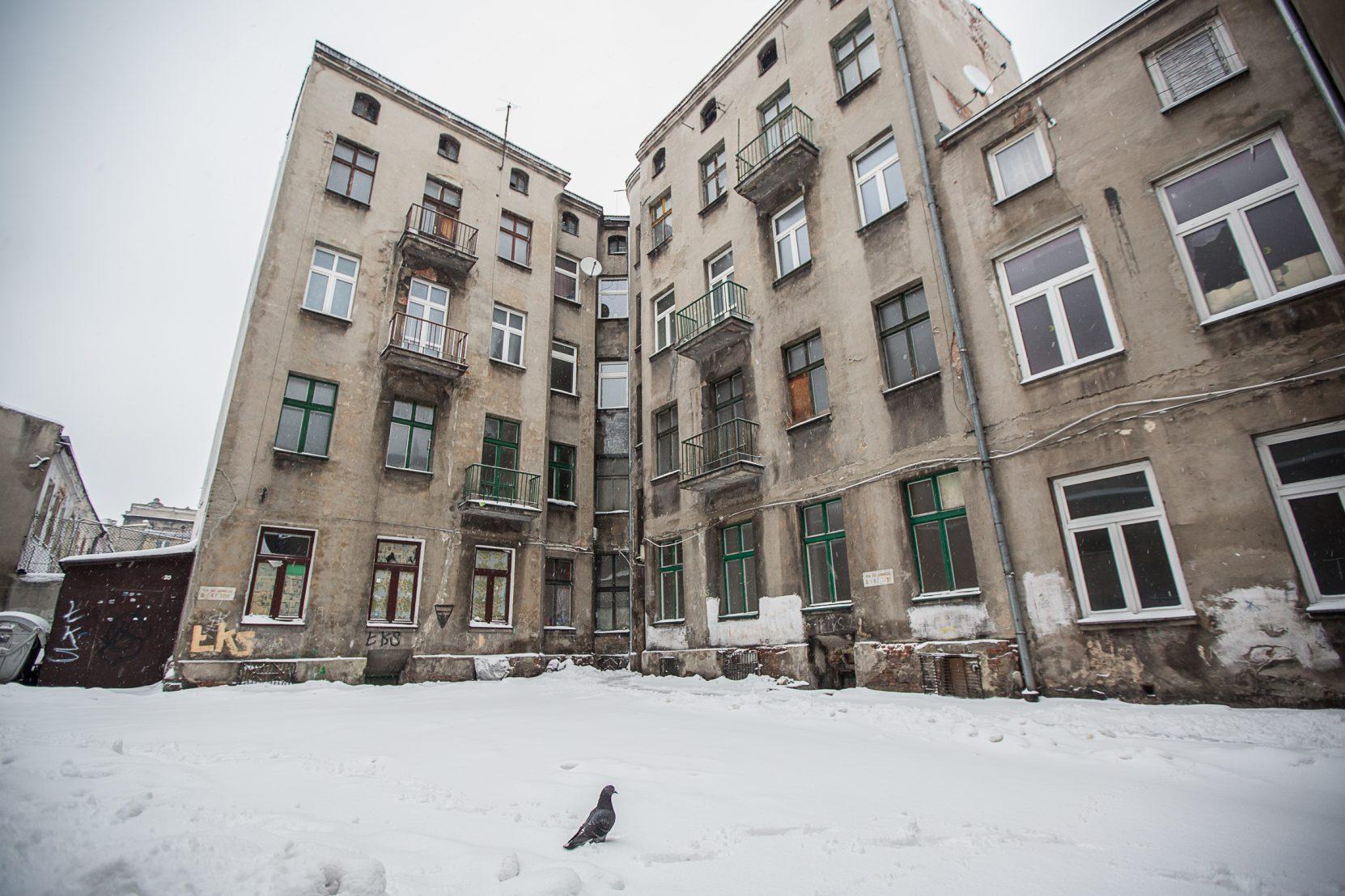 Ulica Włókiennicza. Fot. Łukasz Klimczak